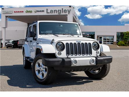 2014 Jeep Wrangler Unlimited Sahara (Stk: LF9701B) in Surrey - Image 1 of 22