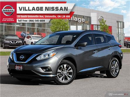 2016 Nissan Murano SV (Stk: 90785A) in Unionville - Image 1 of 28