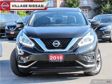 2016 Nissan Murano SL (Stk: P2892) in Unionville - Image 2 of 28