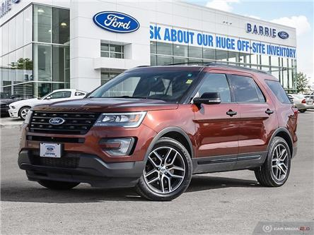 2016 Ford Explorer Sport (Stk: T1540A) in Barrie - Image 1 of 27