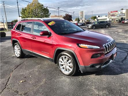 2016 Jeep Cherokee Limited (Stk: 44988) in Windsor - Image 1 of 14