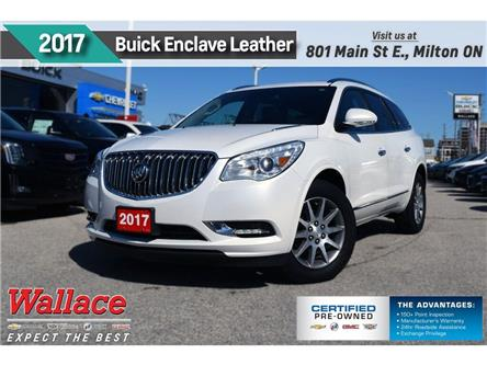 2017 Buick Enclave LEATHER/AWD/DUAL SUNRF/NAV/HTD STS & WHEEL/BOSE/V6 (Stk: PL5257) in Milton - Image 1 of 4