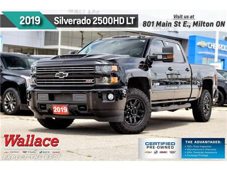 2019 Chevrolet Silverado 2500HD LT/6.6/MIDNIGHT PKG/Z71/HD TRAILR/HTD LTHR STS (Stk: 213977A) in Milton - Image 1 of 28