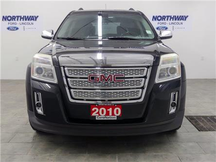2010 GMC Terrain SLT-2 | AWD | HTD LEATHER | BACKUP CAM | SUNROOF | (Stk: DR358A) in Brantford - Image 2 of 34