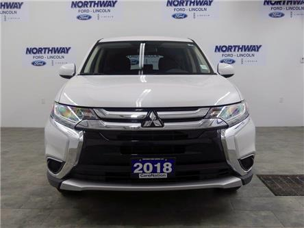 2018 Mitsubishi Outlander ES | AWD | HTD SEATS | BACKUP CAM | BLUETOOTH | (Stk: DR552) in Brantford - Image 2 of 35