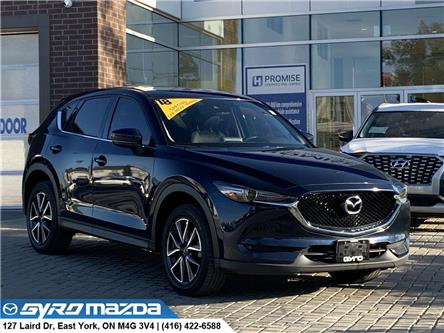 2018 Mazda CX-5 GT (Stk: 28573A) in East York - Image 1 of 30