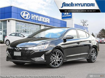 2020 Hyundai ELANTRA4 SPORT 1.6T 7DCT  (Stk: 91514) in London - Image 1 of 23