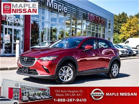 2019 Mazda CX-3 GS AWD-Alloys,Heated Seats,Trade in Vehicle! (Stk: M19R077A) in Maple - Image 1 of 24