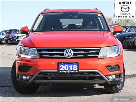 2018 Volkswagen Tiguan Comfortline (Stk: P17507) in Whitby - Image 2 of 27