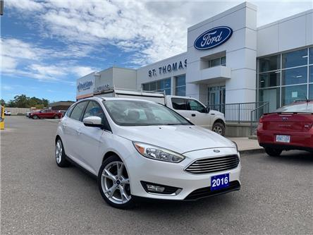 2016 Ford Focus Titanium (Stk: P6877A) in St. Thomas - Image 1 of 28