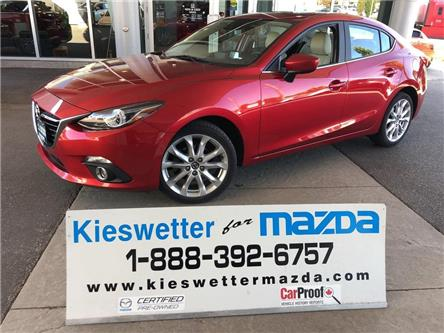 2015 Mazda Mazda3 GT (Stk: U3884) in Kitchener - Image 1 of 30
