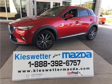 2018 Mazda CX-3 GT (Stk: U3882) in Kitchener - Image 1 of 30