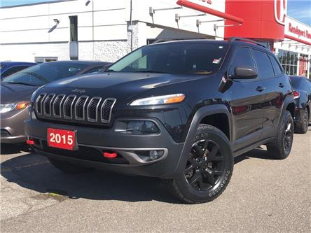 2015 Jeep Cherokee Trailhawk (Stk: 58167A) in Scarborough - Image 1 of 21
