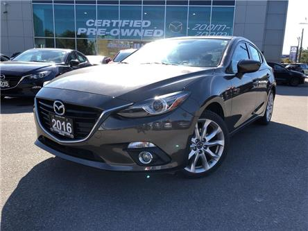 2016 Mazda Mazda3 Sport GT at NAV, LEATHER, SUNROOF, NO ACCIDENT (Stk: P1980) in Toronto - Image 1 of 26
