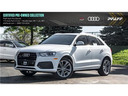 2018 Audi Q3 2.0T Progressiv (Stk: C7134) in Woodbridge - Image 1 of 22