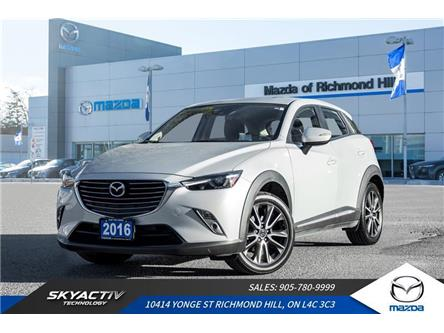 2016 Mazda CX-3 GT (Stk: 19-563A) in Richmond Hill - Image 1 of 20