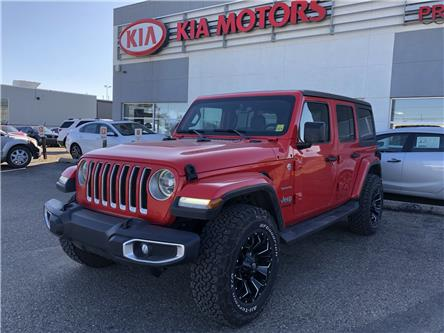 2018 Jeep Wrangler Unlimited Sahara (Stk: 39119A) in Prince Albert - Image 1 of 18