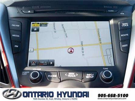 2014 Hyundai Veloster Turbo (Stk: 01029K) in Whitby - Image 2 of 19