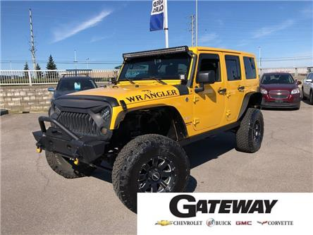2015 Jeep Wrangler Unlimited Sahara|TWO TOPS|AUTOMATIC| (Stk: 331864A) in BRAMPTON - Image 1 of 19