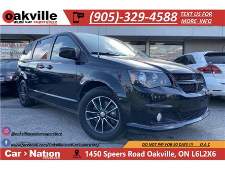 2018 Dodge Grand Caravan GT   HTD SEATS   CAPN CHAIRS   LEATHER (Stk: DR582) in Oakville - Image 1 of 21