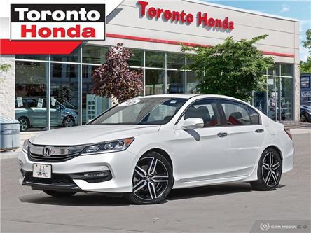 2017 Honda Accord Sport/189h.p./Paddle Shifter/19Alloys/36Watt Audi (Stk: 39522) in Toronto - Image 1 of 27