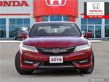 2016 Honda Accord Touring (Stk: 20324A) in Cambridge - Image 2 of 27