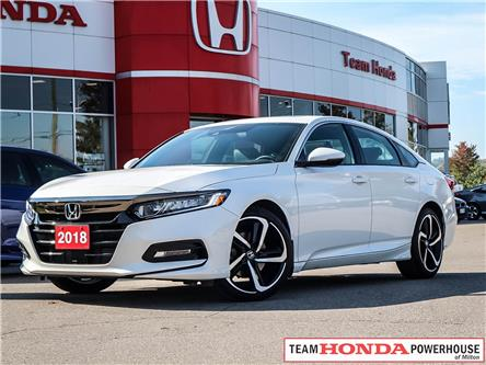 2018 Honda Accord Sport (Stk: 3417) in Milton - Image 1 of 26