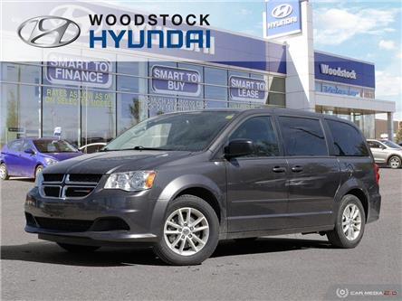 2017 Dodge Grand Caravan CVP/SXT (Stk: SE19017A) in Woodstock - Image 1 of 47