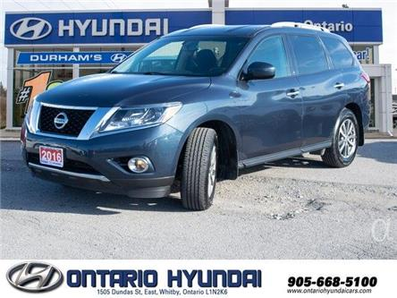 2016 Nissan Pathfinder SV (Stk: 02488K) in Whitby - Image 1 of 22