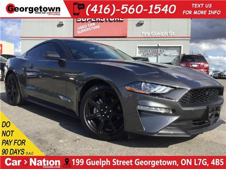 2018 Ford Mustang EcoBoost|ONLY 7, 797KMS|BACK UP CAM|BLACK RIMS (Stk: P12576) in Georgetown - Image 1 of 26
