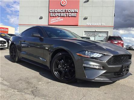 2018 Ford Mustang EcoBoost|ONLY 7, 797KMS|BACK UP CAM|BLACK RIMS (Stk: P12576) in Georgetown - Image 2 of 26
