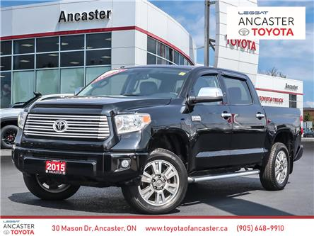 2015 Toyota Tundra  (Stk: P108) in Ancaster - Image 1 of 28