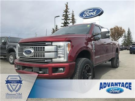 2019 Ford F-350 Platinum (Stk: K-1167A) in Calgary - Image 1 of 20