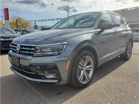 2019 Volkswagen Tiguan Highline (Stk: HC2544A) in Mississauga - Image 1 of 27
