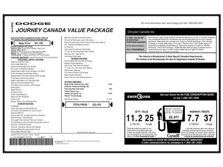 2013 Dodge Journey CVP/SE Plus (Stk: 9F9740A) in Kitchener - Image 2 of 5