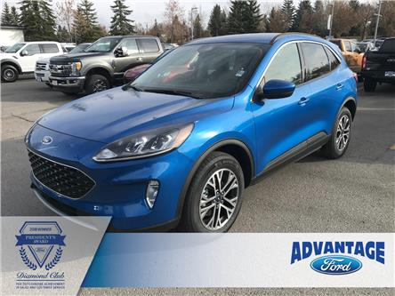 2020 Ford Escape SEL (Stk: L-025) in Calgary - Image 1 of 5