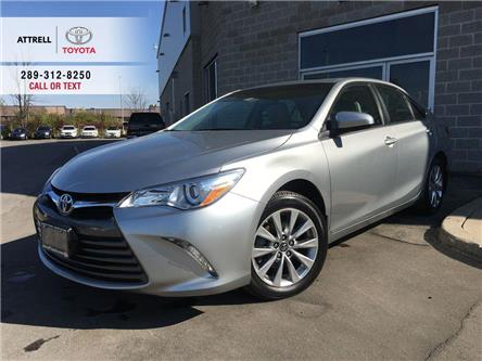 2017 Toyota Camry XLE 4 CYL LEATHER, NAVI, ALLOYS, QI CHARGING, SUNR (Stk: 45454A) in Brampton - Image 1 of 26