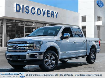 2019 Ford F-150 Lariat (Stk: F19-37248) in Burlington - Image 1 of 24