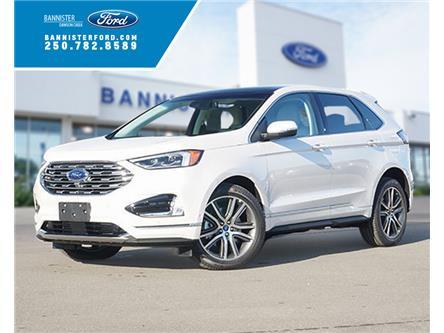 2019 Ford Edge Titanium (Stk: S192425) in Dawson Creek - Image 1 of 17