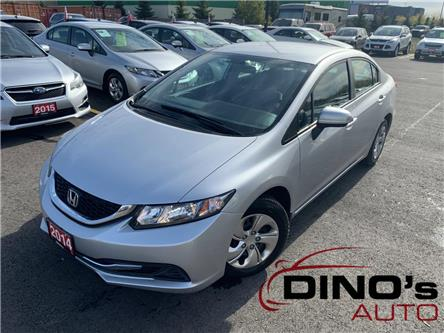 2014 Honda Civic LX (Stk: 015571) in Orleans - Image 1 of 25