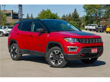 2018 Jeep Compass Trailhawk (Stk: 26768U) in Barrie - Image 1 of 26