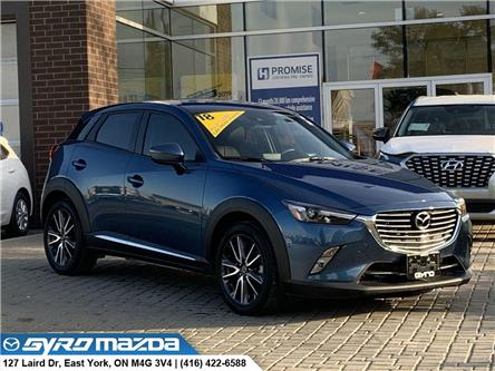 2018 Mazda CX-3 GT (Stk: 28675A) in East York - Image 1 of 30