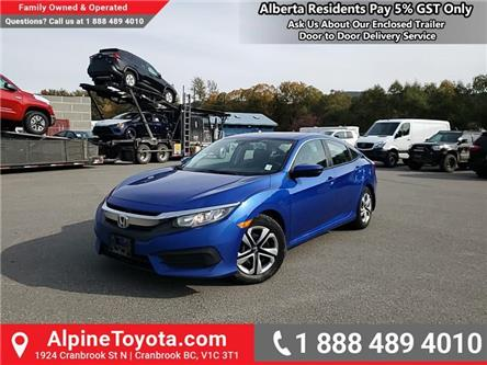 2016 Honda Civic LX (Stk: W053511A) in Cranbrook - Image 1 of 19