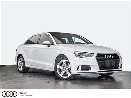 2017 Audi A3 2.0T Komfort (Stk: 92346A) in Nepean - Image 1 of 18