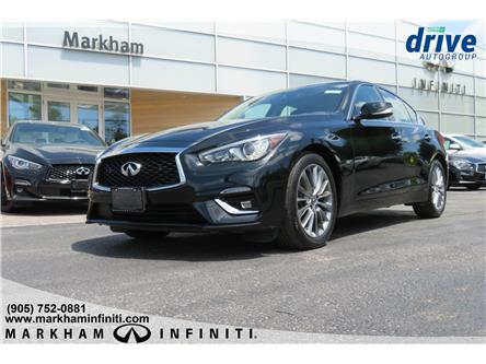 2018 Infiniti Q50 3.0t LUXE (Stk: P3142) in Markham - Image 1 of 23