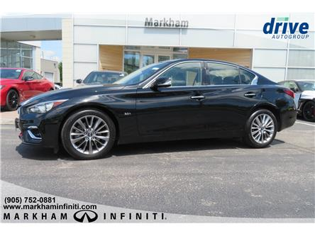 2018 Infiniti Q50 3.0t LUXE (Stk: P3142) in Markham - Image 2 of 23