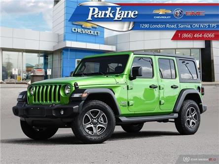2019 Jeep Wrangler Unlimited Sport (Stk: 932531) in Sarnia - Image 1 of 26