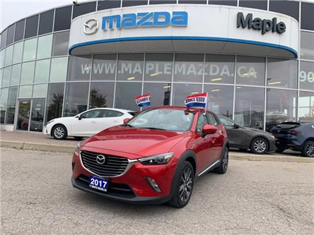 2017 Mazda CX-3 GT (Stk: P-1232L) in Vaughan - Image 1 of 23