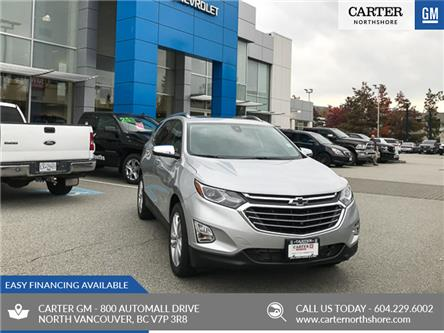 2019 Chevrolet Equinox Premier (Stk: 9E1067T) in North Vancouver - Image 1 of 13