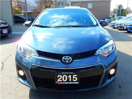2015 Toyota Corolla S (Stk: 2T1BUR) in Kitchener - Image 2 of 24